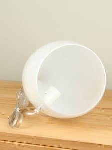 Schirmlampe Glas Casper
