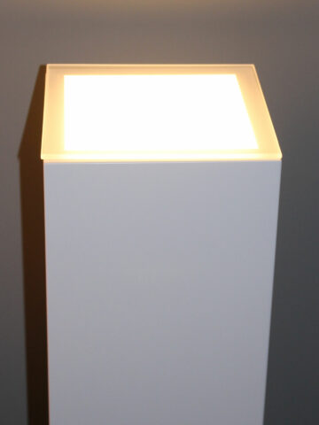 Sokkels voor binnen met LED verlichting