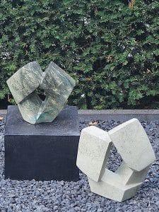 Steinfigur Rocks 1 Zitronen-Opaalstein