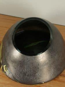 Schale grün/gebrannt Petrovskiy