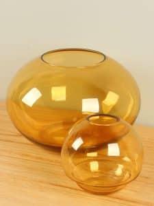Satz 2 Vase braun