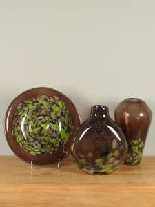 Vase dark geen