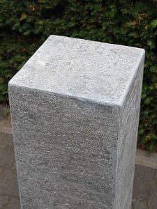Sockel Chinesisch hartstein gebrannt 80x20x20 cm