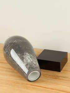 Urne Glas schwarz SCGU-0080