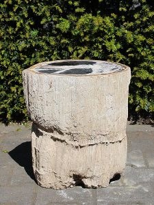 Beistelltisch fossil Holz PU-13