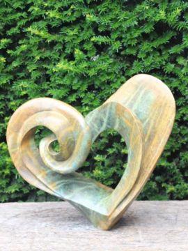 Gartenfigur Beautifull heart