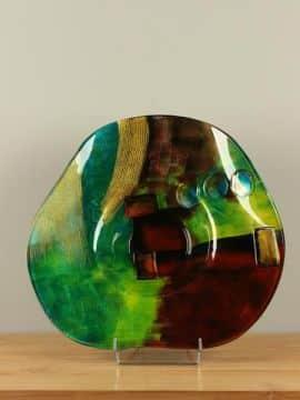 Schale Glas Artwork SCG-5030