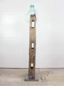 Holzskulptur Teakholz 67 GJ