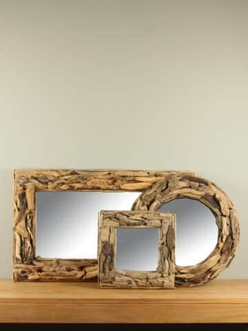 Drijfhout spiegel