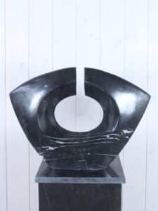 Gartendeko aus Marmor HO-Art. 15 schwarz