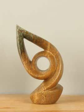Skulptur Naturstein Mini Flame