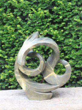 Gartenstatue Miracle Serpentin