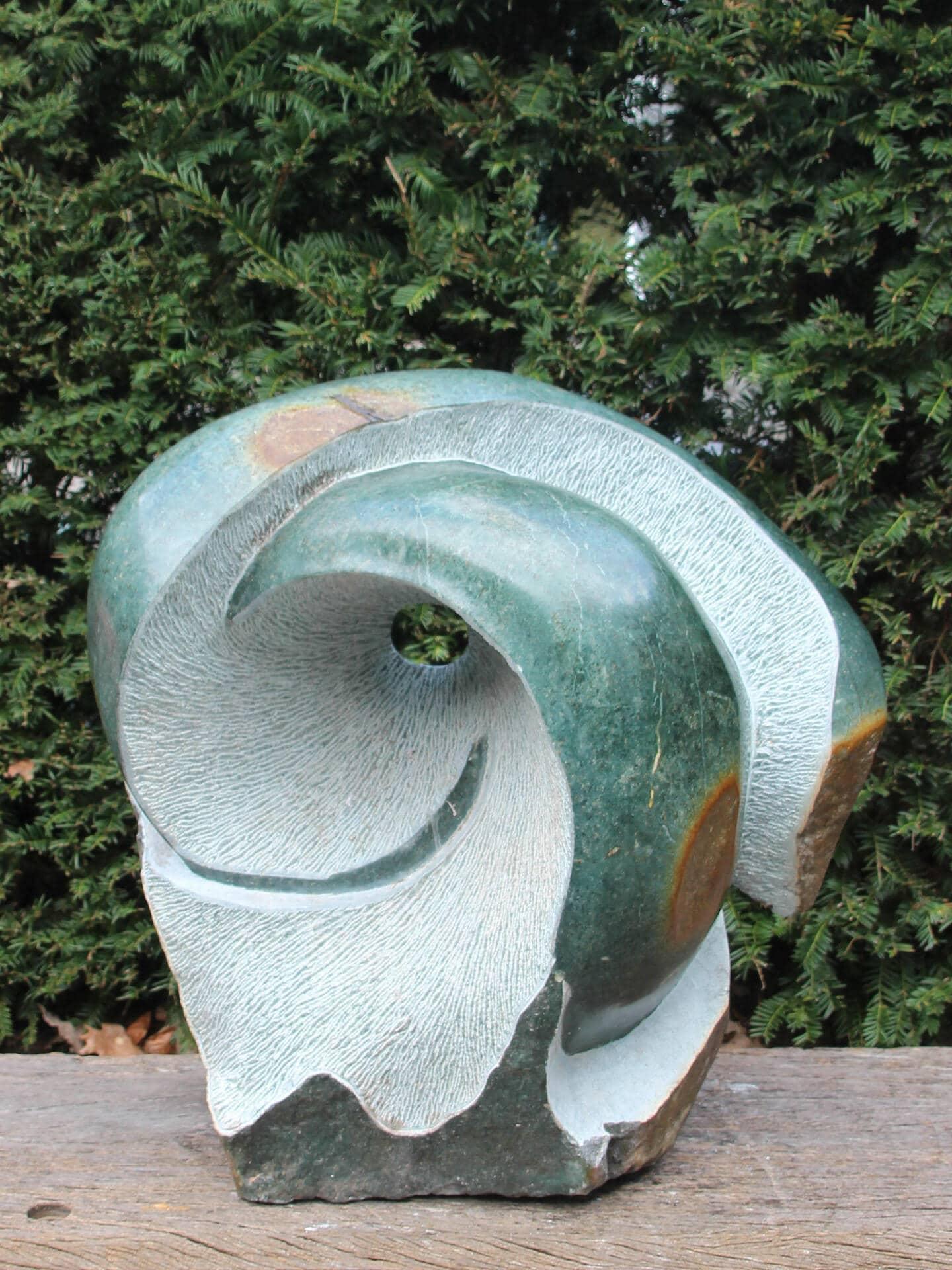 Beeld Authenticity opaalsteen, 58 cm