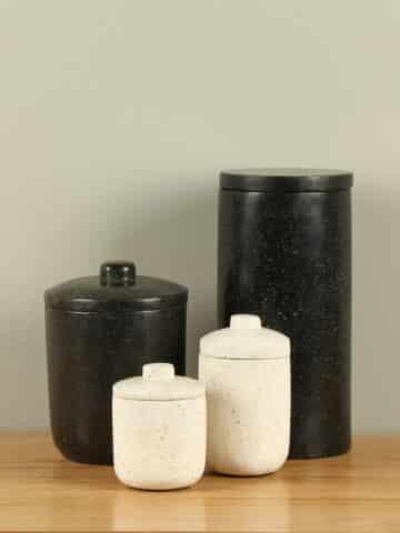 Terrazzo urn