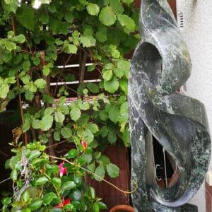 Afrikaans tuinbeeld